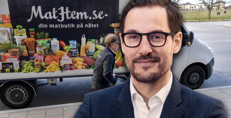 Mathem gör ny jätterunda – Kinnevik ökar sitt ägande