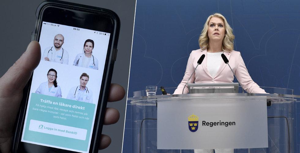 Ödesbeslutet för nätläkarna närmar sig – skickar önskelista till regeringen