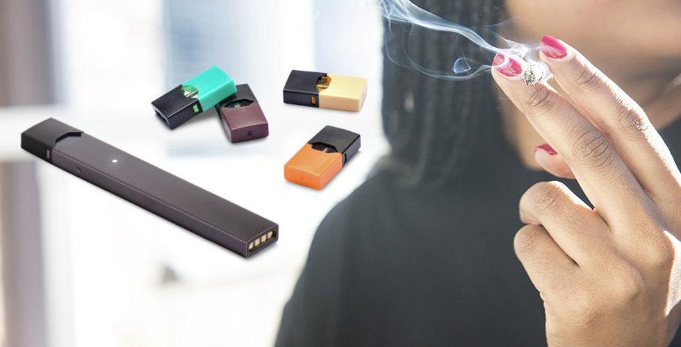 FDA begränsar försäljning av smaksatta e-cigaretter