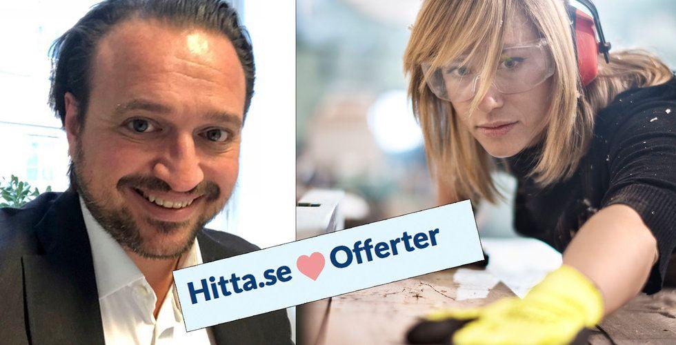 Breakit - Hitta.se tar upp kampen med Servicefinder och Offerta