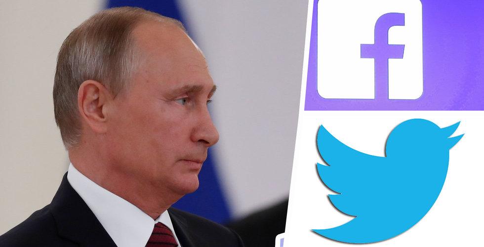 Facebook och Twitter får 9 månader på sig att börja följa ryska datalagar