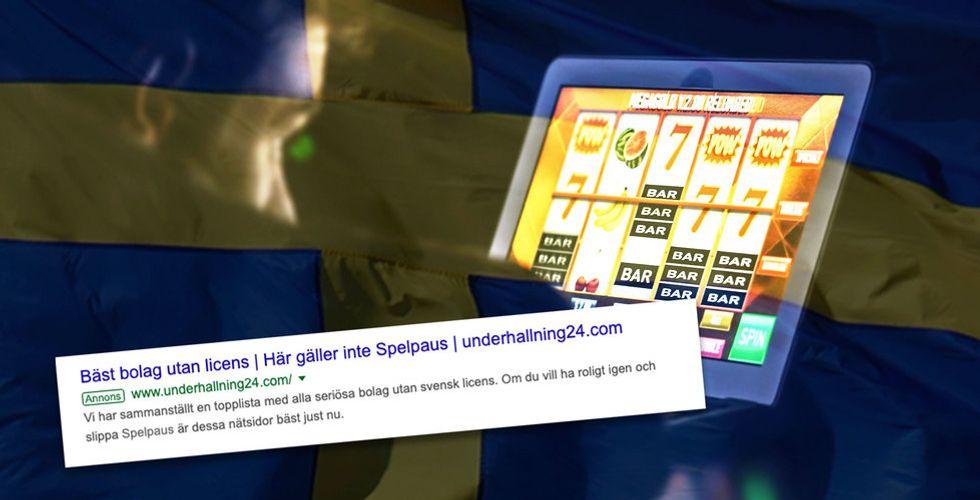 Svenskar som vill sluta spela lockas till utländska sajter – genom Google-reklam