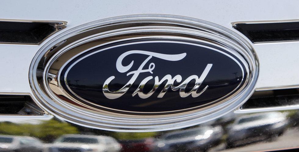Ford planerar att ha ett nätverk av självkörande bilar 2021