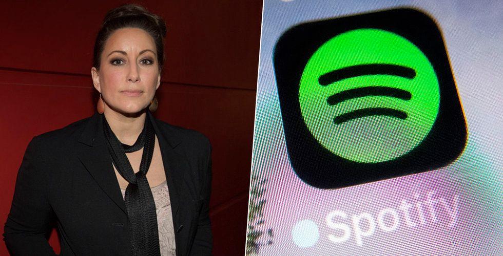 Lisa Nilsson sågar Spotifys villkor