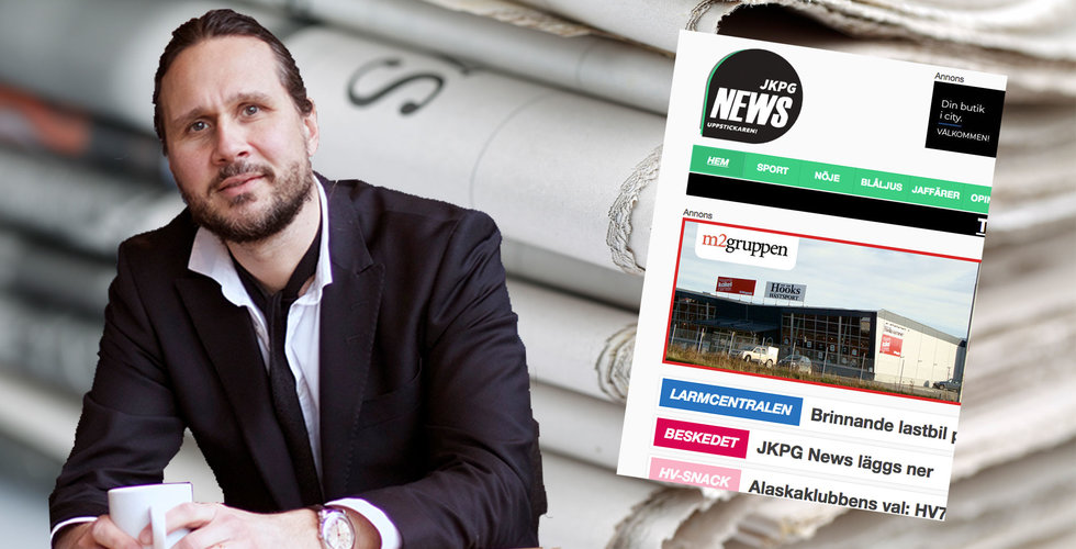 Medieuppstickaren JKPG News läggs ner - för tuff konkurrens