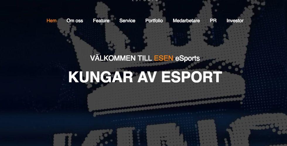 ESEN eSports sänder e-sport –klara för börsen