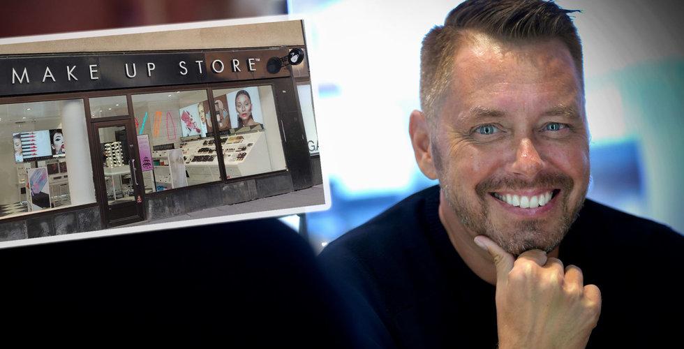 Kris i sminkbolaget Make Up Store – inleder rekonstruktion