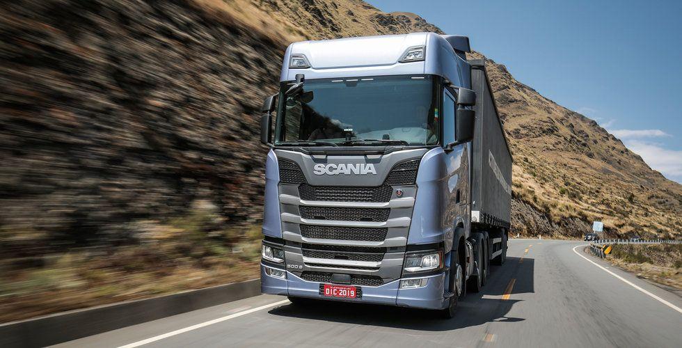 Scania permitterar nästan alla anställda