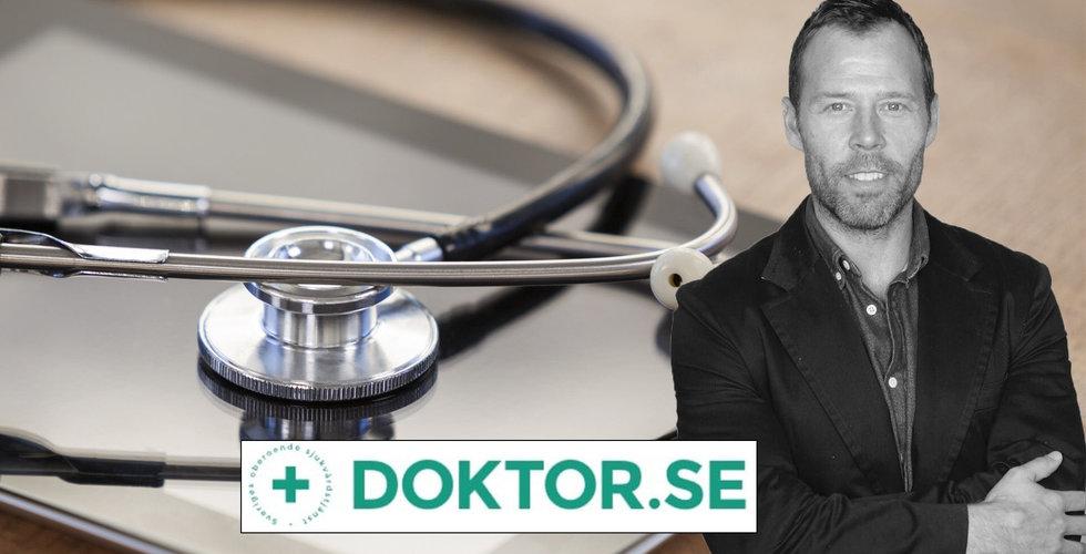 Bonnier ger sig in i nätläkarkriget – investerar i Doktor.se