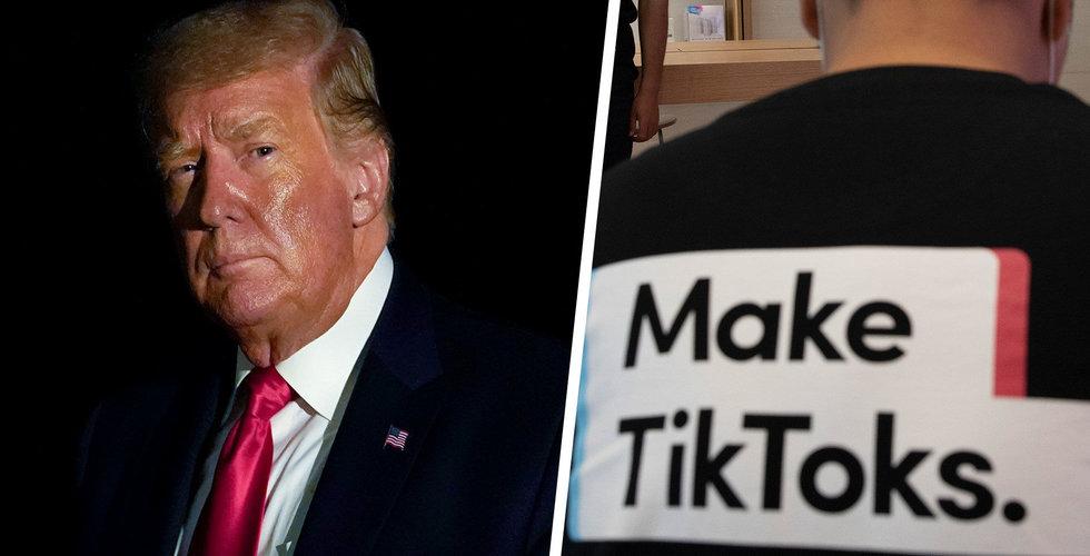 Kinesiska Bytedance utmanar Trumps Tiktok-beslut