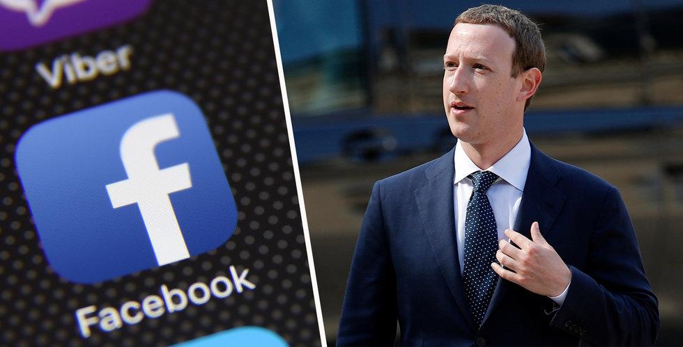 Facebook börjar blockera allt vit makt-innehåll