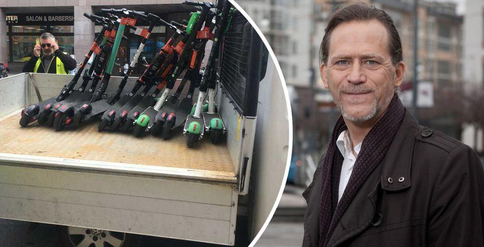 Stockholms stad beslagtar elsparkcyklar