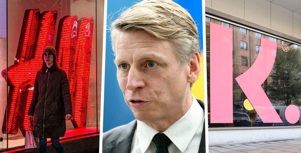"""Per Bolunds hårda ord mot Klarna och H&M:  """"Kommer att hamna i förtroendekris"""""""