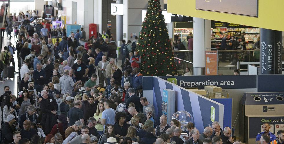 Gatwick-drönarna kostade nära 200 miljoner – för ett enda flygbolag
