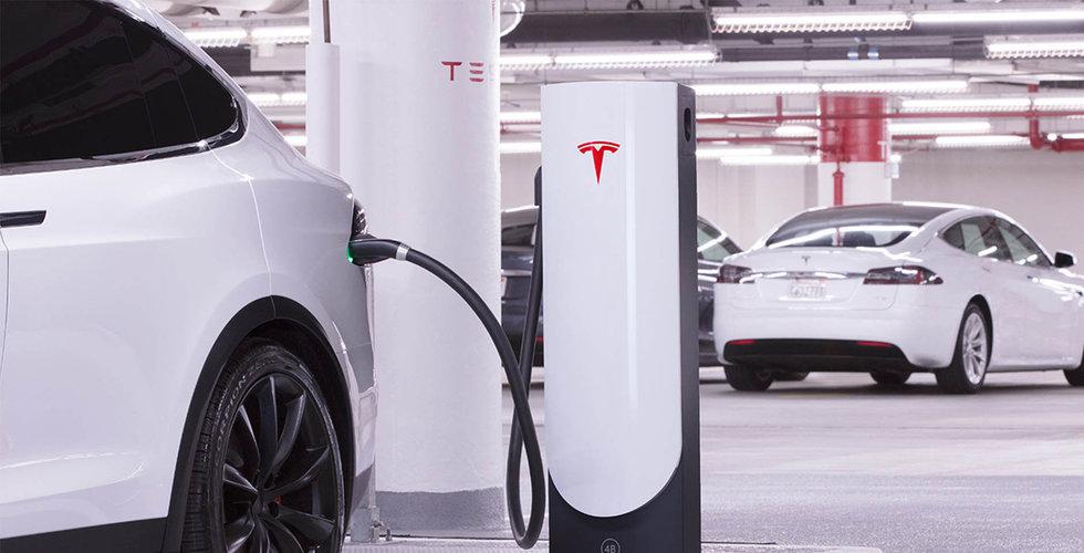 Breakit - Tesla förbjuder Uber-förare att ladda vid snabbladdare