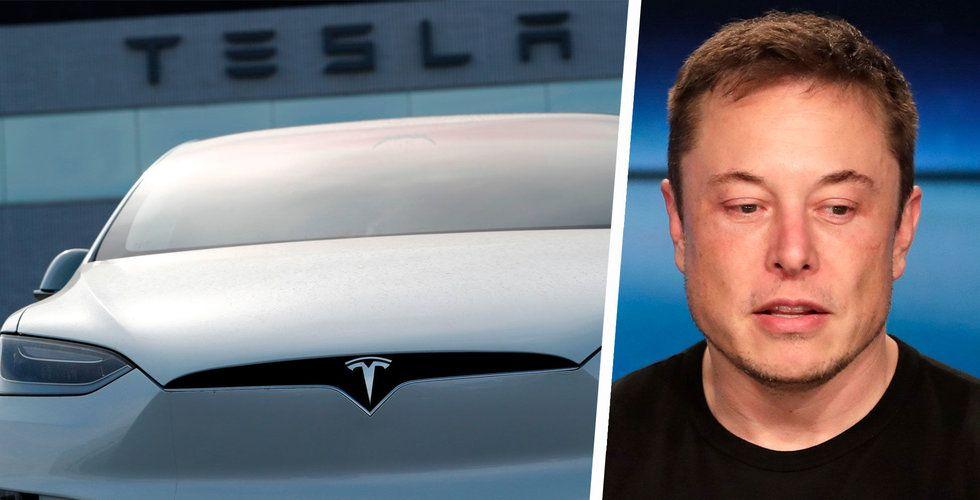 Tesla säger upp 9 procent av personalen