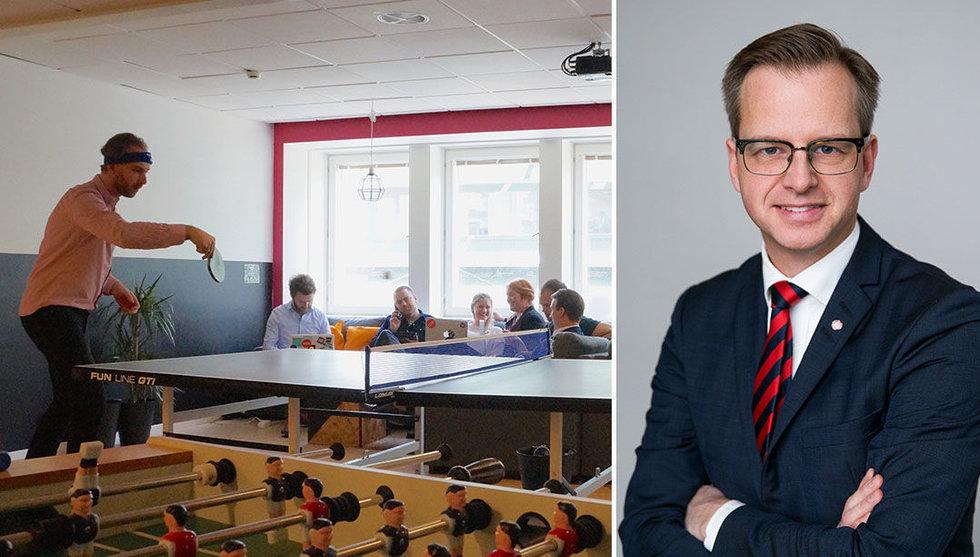 Breakit - Damberg lägger miljoner på att få industri-jättar att lära av startups