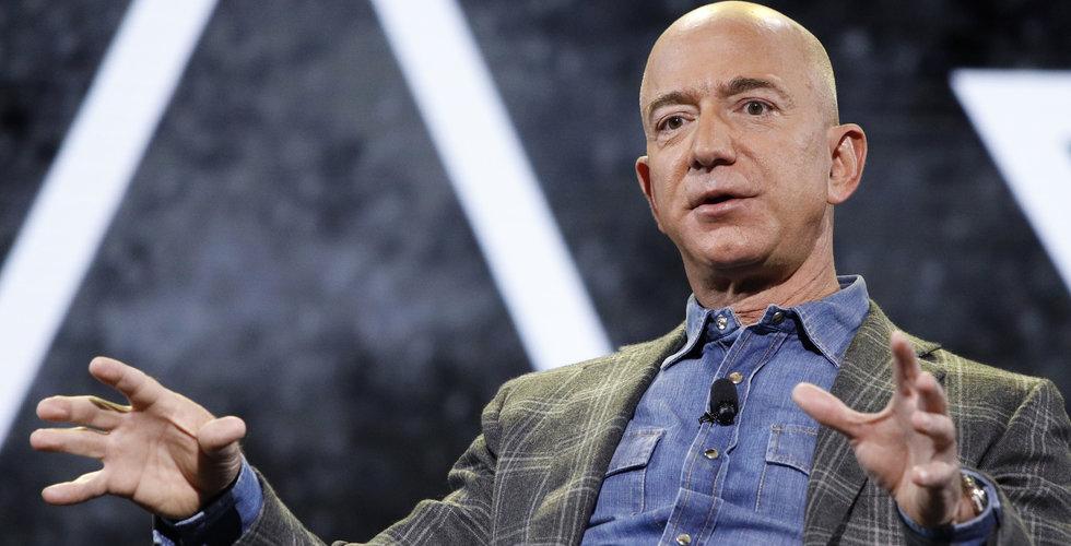 Bezos säljer aktier i Amazon för 1,8 miljarder dollar