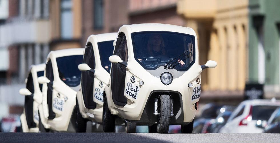 Taximoppen Bzzt gasar – dubblar flottan i Stockholm nästa år