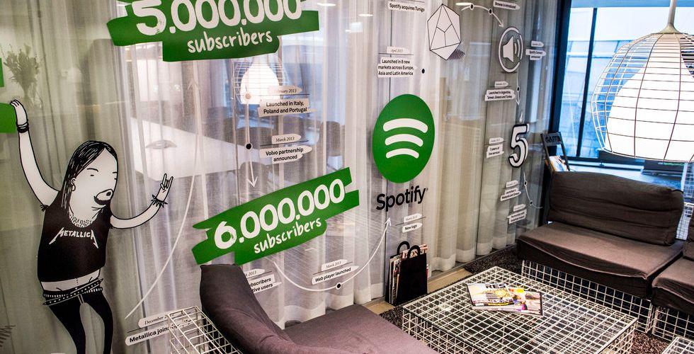 Breakit - Musikbranschen växer igen tack vare Spotify och Pandora