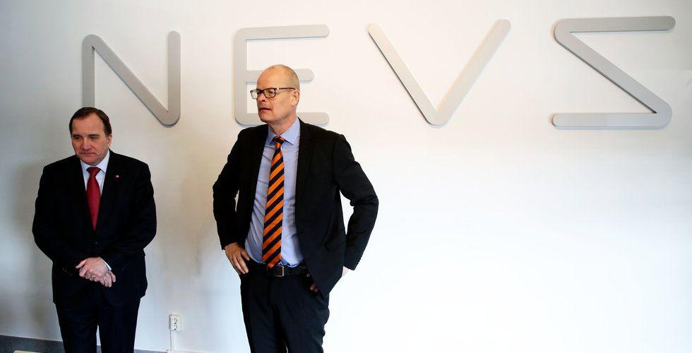 Breakit - Nevs har avbrutit projekt med elbil för kinesiska Didi