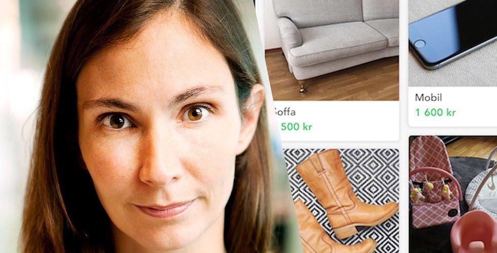 Schibsteds köp- och säljapp Shpock skrotar svenska språket