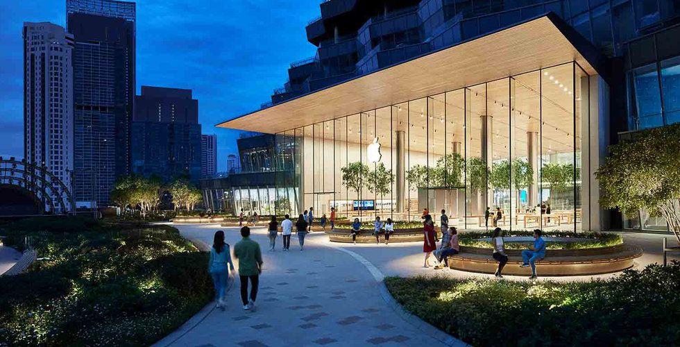 Apple öppnar första butiken i Thailand