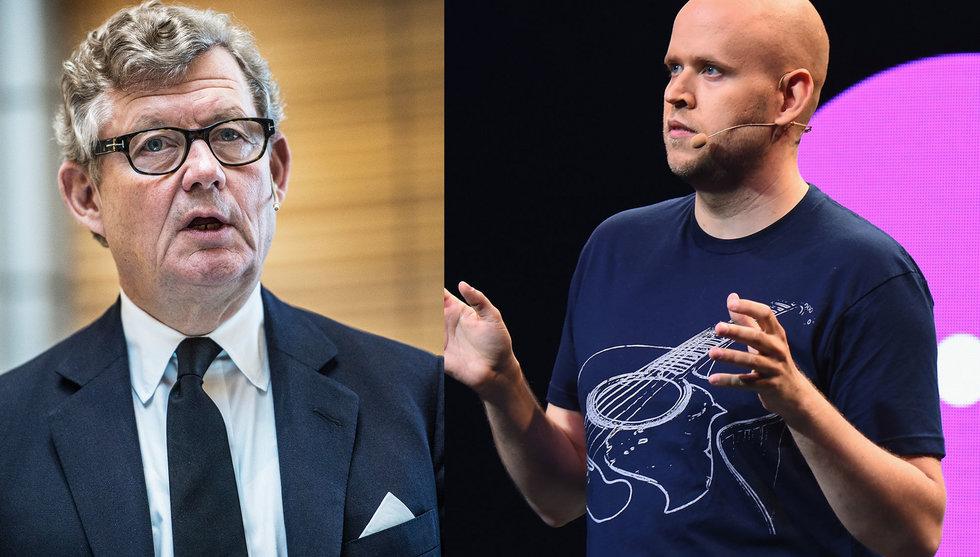 Breakit - Uppgifter: Wallenberg och AMF vill investera halv miljard i Spotify