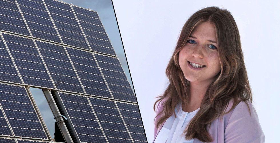Breakit - Sofie Allerts alger ska göra solceller bättre – backas av Almi invest och Chalmers ventures