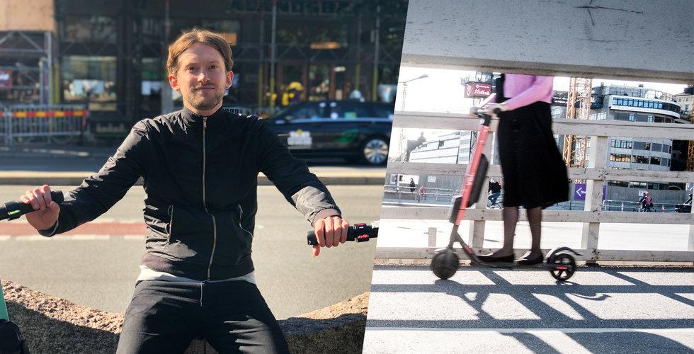 Simon Strand: Jag vill bygga världens snabbaste elsparkcykel