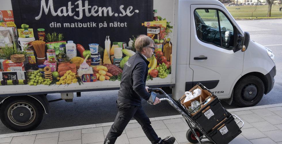 """Rusning till Mathem under coronakrisen: """"Efterfrågan har ökat enormt"""""""