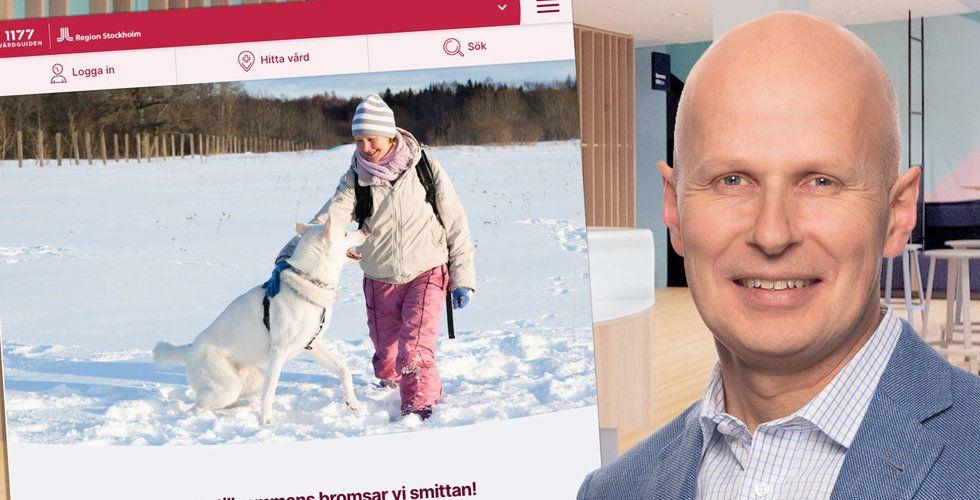Kry köper bolaget som driver 1177 Vårdguiden i Stockholm