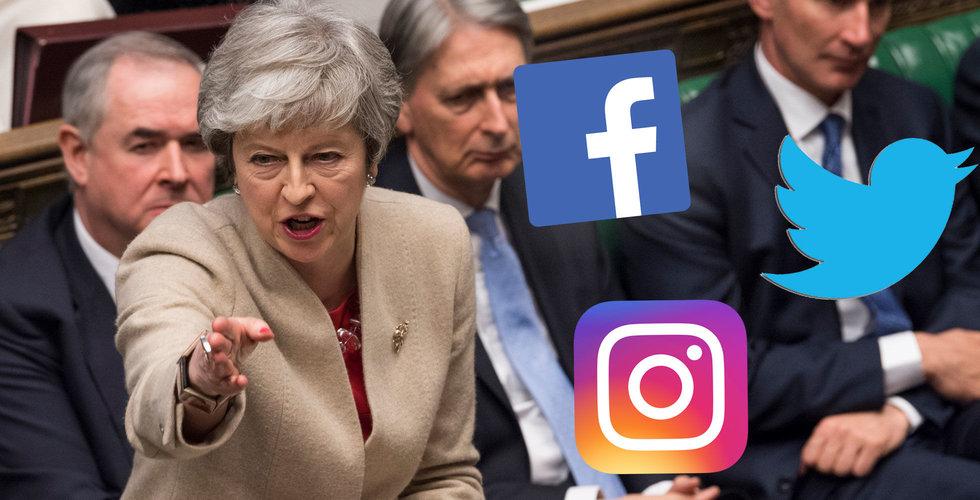 Storbritannien vill införa obligatorisk övervakning av sociala medier
