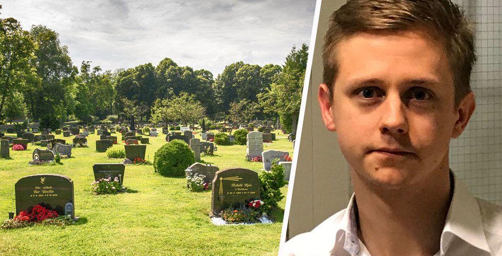 Bytte golfbanan mot kyrkogården – bygger miljardaffär på döden