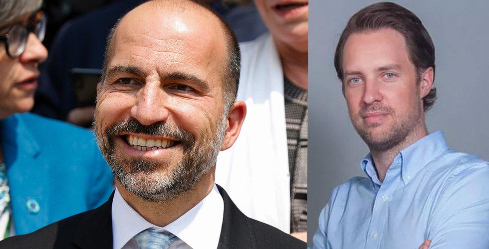 """Uber-bossens hyllning till Magnus Olsson: """"Första klassens entreprenör"""""""