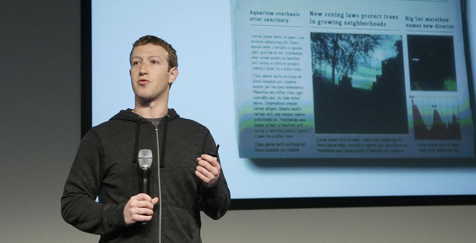 Breakit - Zuckerberg vill hjälpa nyhetssajter att få fler prenumeranter