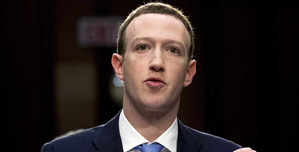Mark Zuckerberg hyllar GDPR