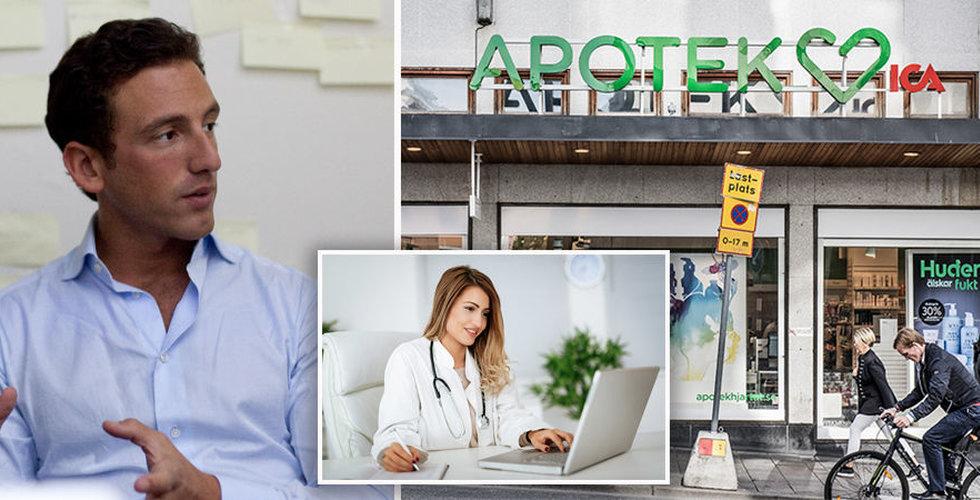 """Läkarförbundets expert: """"Apotek hjärtat borde inte få äga Min doktor"""""""