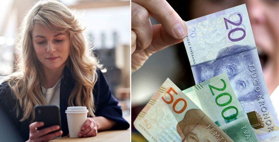 Så många miljarder har svenskarna på sparkonton – som knappt ger någon avkastning