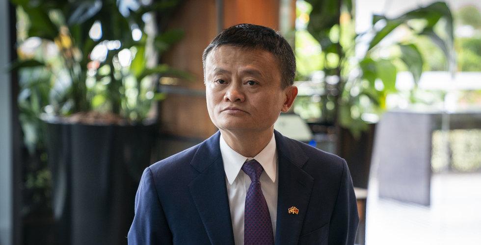 Alibaba-grundaren Jack Ma har synts till i Hongkong