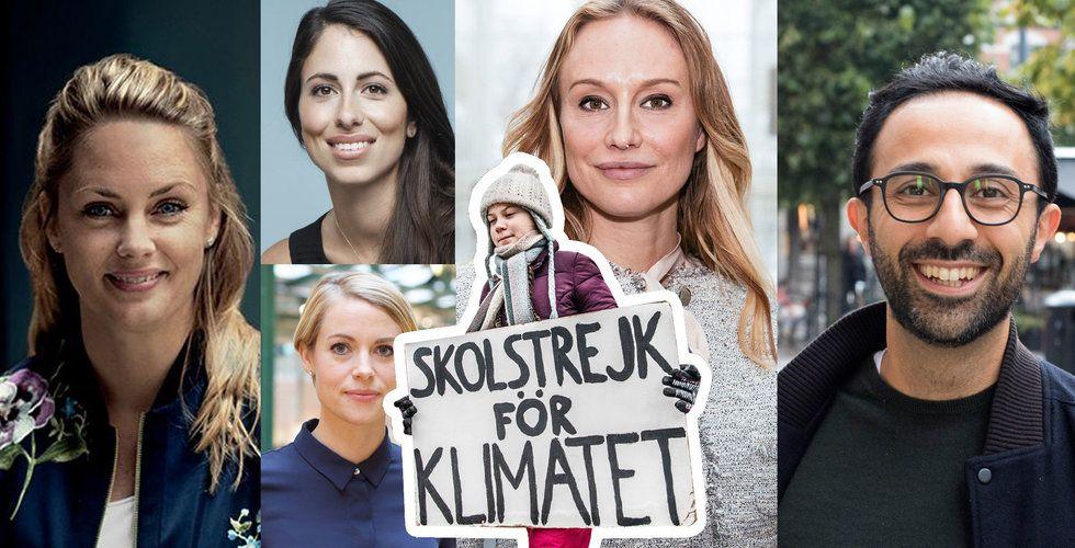 Techprofilerna gör som Greta Thunberg – skolstrejkar för klimatet