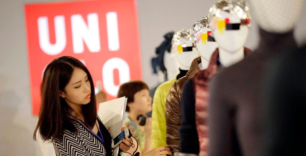 H&M-konkurrenten Fast Retailing släpper prognos under förväntan