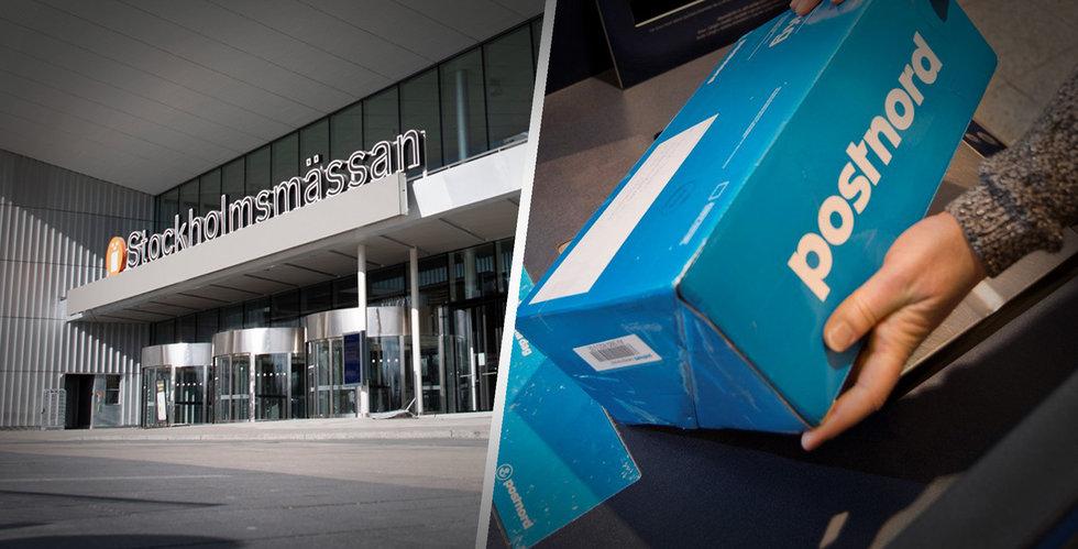 Postnord laddar för rekordvolymer – förvandlar Stockholmsmässan till drive thru