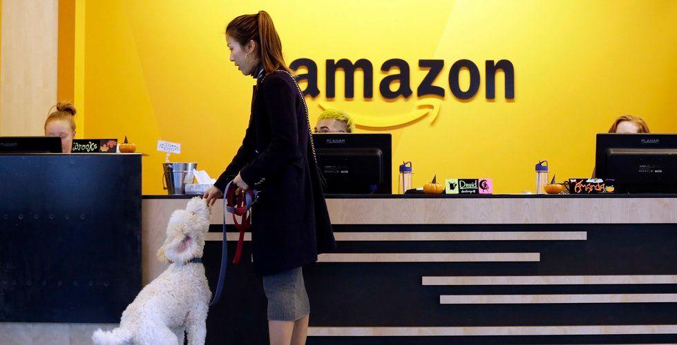 Breakit - Amazon upp efter stark rapport