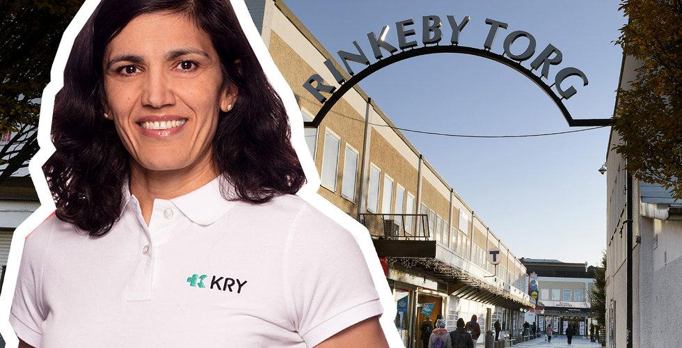 """Kry börjar med coronatester i Rinkeby: """"Har hittills saknats"""""""