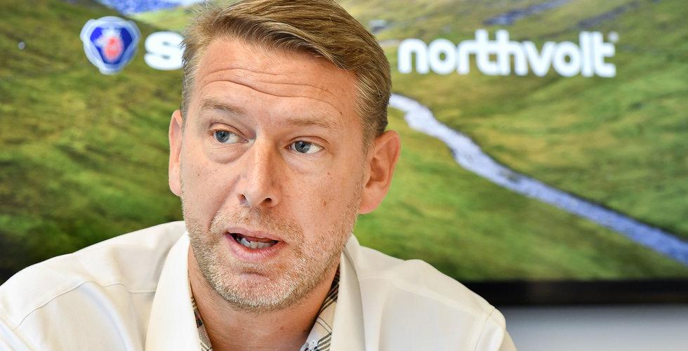 """Northvolt landar nyckelavtal: """"Vårt mål är att producera världens grönaste batterier"""""""