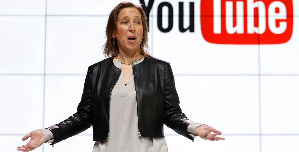 Så många inloggade användare har Youtube varje månad
