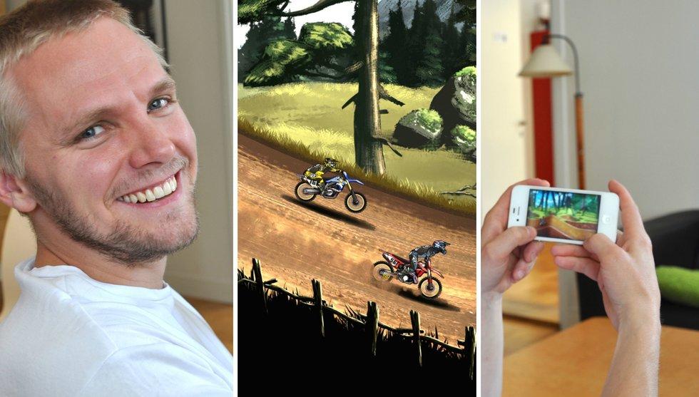 Så fick Umeå-bolaget 20 miljoner att ladda ner ett motocrosspel