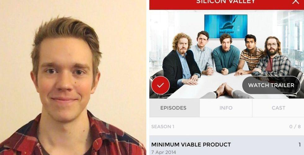 Intresset för tv-serier blev en app – som nu har 10.000 användare
