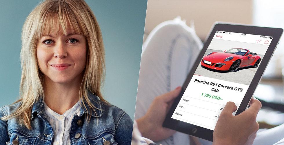 Blockets nya drag – vill att du klickar hem bilen direkt på nätet